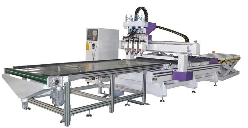 A6全自动板式家具生产线设备