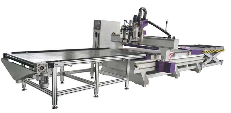A6定制家具自动化生产线