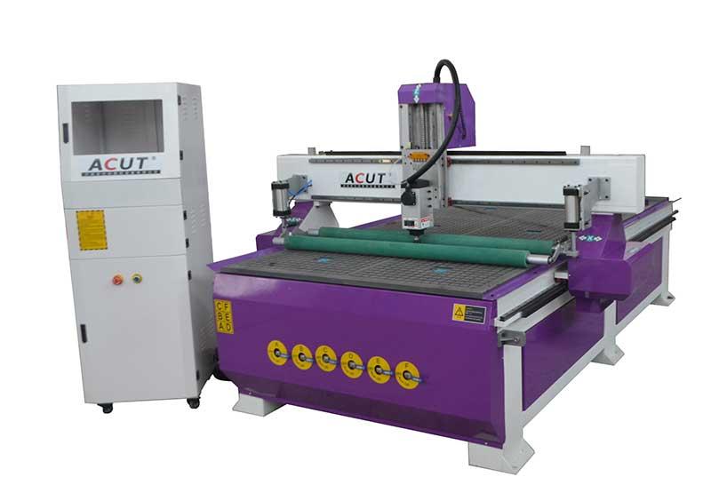 ACUT-1325木工雕刻机带压轮