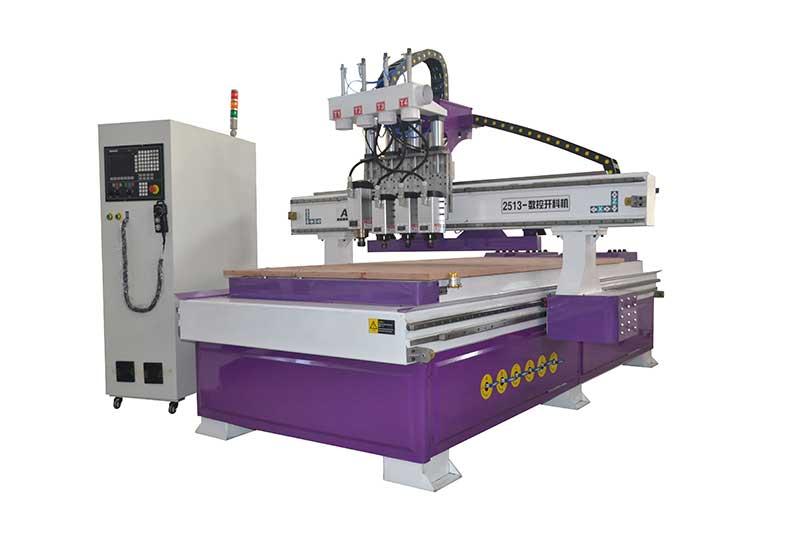 双工序排钻开料机对刀分类及方法