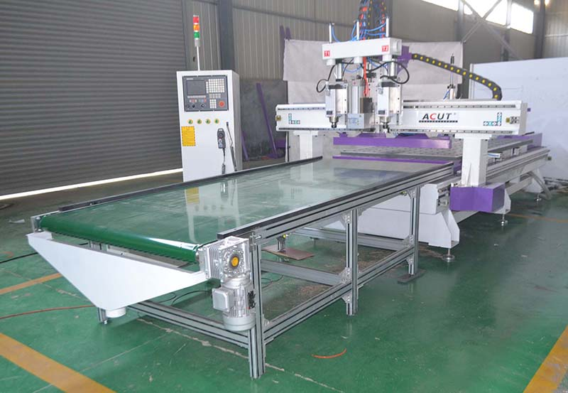 定制家具生产线中在生产中的优势
