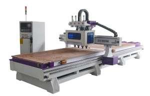 金仕刻一个现代化全自动板式家具生产流水线厂家